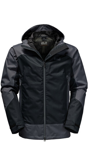 Jack Wolfskin North Slope jakke Herrer sort